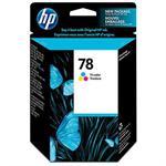 78 - Color (cyan, magenta, yellow) - original - ink cartridge - for Deskjet 12XX, 38XX, 9300, 99X; Fax 12XX; Officejet 5110, g55, g85, k60, K80; psc 750, 950