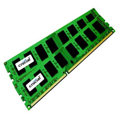 Crucial 8GB Kit (4GBx2), 240-pin DIMM, DDR3 PC3-8500 Memory Module (CT2KIT51272BA1067)