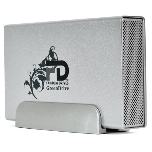 Fantom Drives GreenDrive Quad Interface 2TB External eSATA / FireWire 800 / FireWire 400 / USB 2.0 / Oxford Chip Set