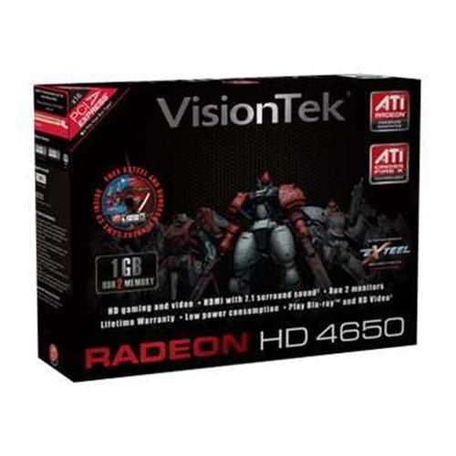Visiontek Radeon HD 4650 graphics card - Radeon HD 4650 - 1 GB