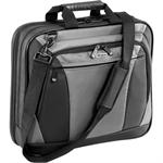 "16"" CityLite Topload Laptop Case - Black/Gray"