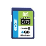 Edge Memory 4GB Edge Sdhc Hd Video Card Class 6 PE222581