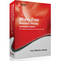 Trend Micro Worry-Free Business Security Advanced - Maintenance (renewal) ( 1 year ) - 1 user - volume - 51-250 licenses - Win, Mac CMRN0046