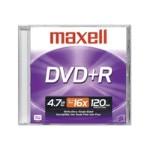 DVD+R - 4.7 GB ( 120min ) 16x - jewel case