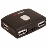 Quickhub 4-Port USB 2.0 Hub - Desktop
