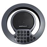 "Spracht The ""new"" updated AURA SOHO Full-Duplex, Analog Conference Phone with Expandable Capability.  Purchase additional modules to add Bluetooth compatability, connect into your PBX phone system, or add microphones for larger conference rooms. CP-2016"