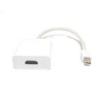 Micro Connectors 9in Mini DisplayPort Thunderbolt to HDMI Adapter M05-199