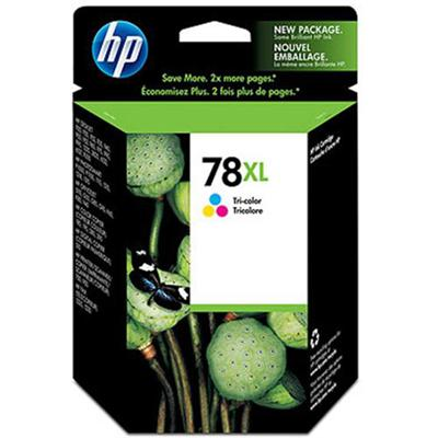 HP 78XL Tri-color Inkjet Print Cartridge (C6578AN#140)