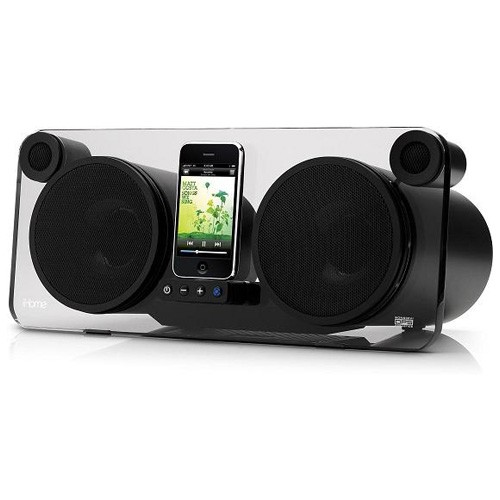 iHome iP1 Studio Series Audio System for iPod/iPhone