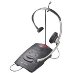 Plantronics S11 - Headset - full size - with amplifier 65148-11
