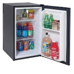 SHP2501B - Refrigerator - freestanding - width: 17 in - depth: 20.5 in - height: 29 in - 2.5 cu. ft - black