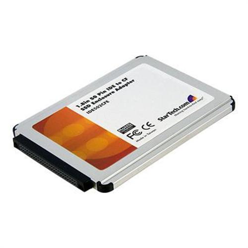 StarTech 1.8in 50 Pin IDE to Compact Flash Solid State Drive Enclosure Adapter - CompactFlash Card adapter - IDE