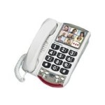 Plantronics Photo Phone P-300 - Corded phone - single-line operation P-300