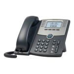 Small Business SPA 508G - VoIP phone - SIP, SIP v2, SPCP - multiline - silver, dark gray - for Small Business Pro Unified Communications 320 with 4 FXO