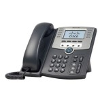 Small Business SPA 509G - VoIP phone - SIP, SIP v2, SPCP - multiline - silver, dark gray - for Small Business Pro Unified Communications 320 with 4 FXO