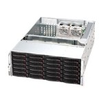 Supermicro SC846 A-R1200B - Rack-mountable - 4U - extended ATX - SATA/SAS - hot-swap 1200 Watt - black