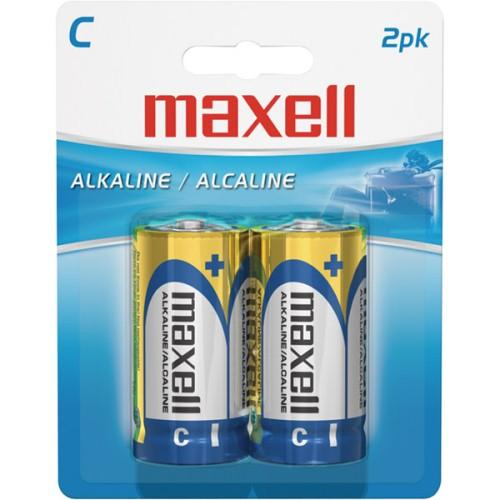 Maxell C Alkaline Battery 2 Pack