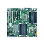 SUPERMICRO X8DTN+ - Motherboard - enhanced extended ATX - LGA1366 Socket - 2 CPUs supported - i5520 - 2 x Gigabit LAN - onboard graphics
