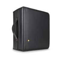 Case Logic DVD Album- 200 DVDs - Black DVB-200BLACK