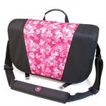 "17.1"" Sumo Messenger Bag - Black / Pink"