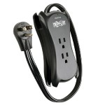 TrippLite Mobile Surge Protector / Suppressor with 3 outlets & 2 USB Charging Ports 540 Joules TRAVELER3USB