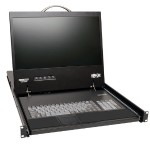 NetCommander 16-Port Cat5 1U Rack-Mount 1+1 User Console KVM Switch with 19-in. LCD and IP Remote Access