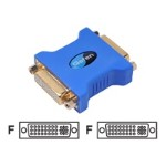 DVI adapter - DVI-I (F) to DVI-I (F)