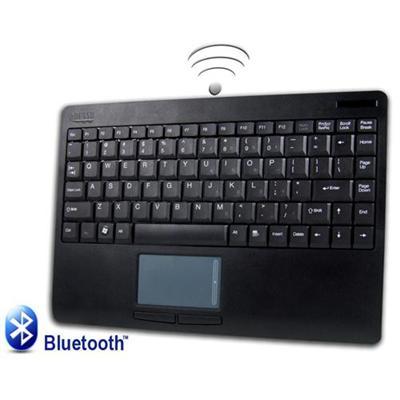 AdessoSlimTouch Bluetooth Touchpad Keyboard - Black(WKB-4000BB)