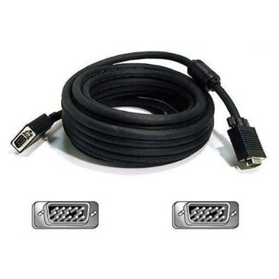 Belkin 75ft Pro Series High Integrity VGA/SVGA Monitor Replacement Cable (A3H982-75 )