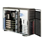 Supermicro SC747 TQ-R1400B - Tower - 4U - extended ATX - SATA/SAS - hot-swap 1400 Watt - dark gray - USB