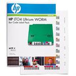 Hewlett Packard Enterprise LT04 Ultrium WORM Bar Code Label Pack Q2010A