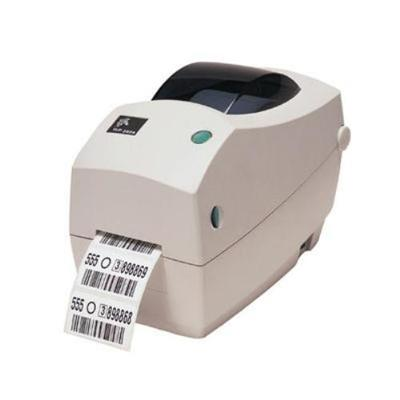 Zebra Tech TLP 2824 Plus Monochrome Direct thermal Thermal transfer Label printer - Parallel, Serial, USB (282P-101110-000)