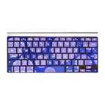 iSkin ProTouch Vibes for Aluminum Wired/Wireless Keyboards Purple/Light Purple PTVBWK-LI