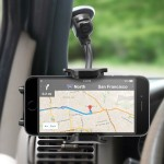 MacAlly Peripherals Suction Cup Mount For Smartphones & Most GPS MGRIP