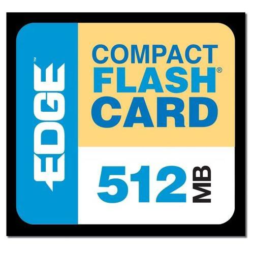 Edge Memory 512MB Digital Media CompactFlash Card