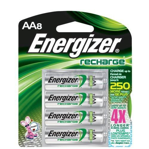 Energizer NH15 - battery - AA - NiMH x 8
