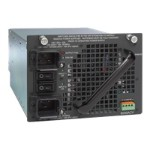 Power supply (plug-in module) - AC 110/220 V - 6000 Watt - for Catalyst 4503, 4503-E, 4504, 4506, 4506-E, 4507R, 4507R-E, 4510R, 4510R+E, 4510R-E