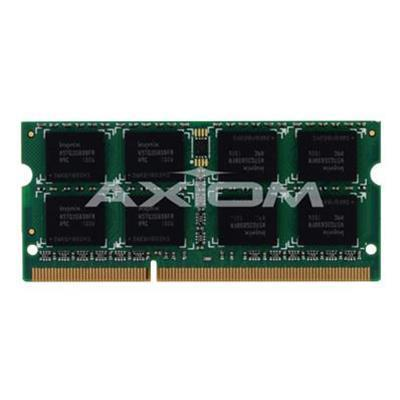 Axiom Memory4GB DDR3-1066 SODIMM Kit (2 x 2GB) for Apple # MC243G/A For Apple MacBook Pro (DDR3) 13-inch (White Late 2009)(MC243G/A-AX)