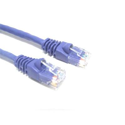 Micro Connectors3FT CAT6 MOLDED SNAGLESS PATCH CABLE PU(E08-003P)