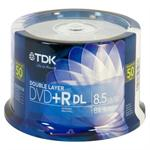 Imation 50PK 8.5GB TDK 8X DVD+R-DL SPINDLE 61611