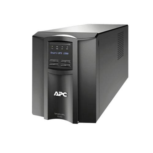 APC Smart-UPS 1500 LCD - UPS - AC 120 Volts - 980 Watts - 1440 VA - RS-232, USB - 8 Output Connector(s)