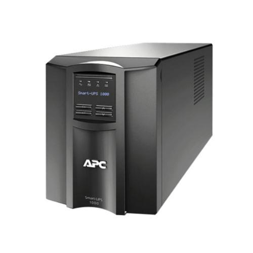 APC Smart-UPS 1000 LCD - UPS - AC 120 Volts - 670 Watts - 1000 VA - RS-232, USB - 8 Output Connector(s)