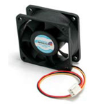 60x25mm High Air Flow Dual Ball Bearing Computer Case Fan w/ TX3 - System fan kit - 60 mm - for P/N: RMC4450