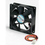 92x25mm Ball Bearing Quiet Computer Case Fan w/ TX3 Connector - System fan kit - 92 mm