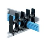 Stackable Cable Rack Spacer - Cable organizer - black