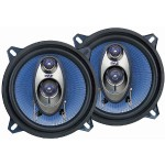 Pyle 5.25'' 200 Watt Three-Way Speakers - Blue, Pair PL-53BL