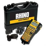 Rhino 5200 Hard Case Kit - Labelmaker - monochrome - thermal transfer - Roll (0.75 in) - yellow