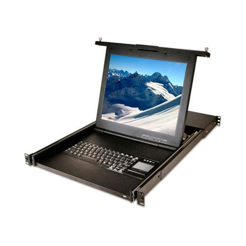 Avocent LCD Console and KVM over IP Switch Integrated Tray - KVM console - 17""