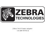 Zebra Tech Power adapter - car - for MZ 220, 320 AK18356-2