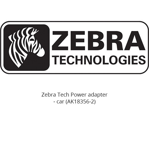 Zebra Tech Power adapter - car